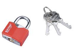 Extol Premium 8857463 Zámok vysací 30mm, s ochranným plastom