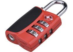 Extol Premium 8857301 Zámok číselný na batožinu s TSA zámkom, 60mm