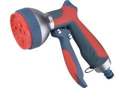 Extol Premium 8876456 Postrekovač záhradný zinkový, 7-funkčný, pogumovaná rukoväť