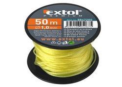 Extol Premium 8847212 Murárska šnúra cievka dĺžka 50m, pr.1,7mm, žltá