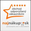 Pozrite si recenzie e-shopu na najnakup.sk