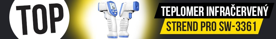 Strend Pro SW-3361 Teplomer infračervený bezkontaktný +32°C až +45°C