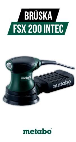 Exentrická brúska Metabo FSX 200 INTEC 240 W 125 mm, 609225500