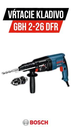 Vŕtacie kladivo Bosch GBH 2-26 DFR Professional SDS-Plus 0611254768
